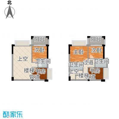 雍景家园101.00㎡雍景家园户型图F4户型复式下层3室2厅2卫户型3室2厅2卫