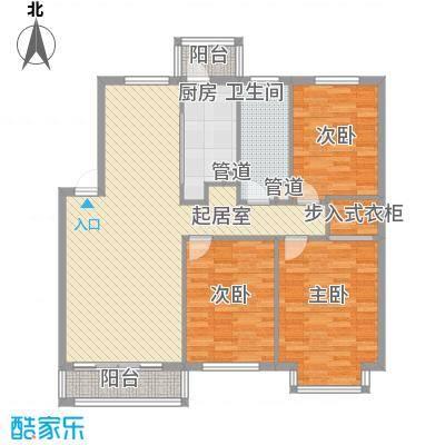 长兴湾一期110.00㎡长兴湾一期户型图一期8号楼标准层D户型3室2厅1卫1厨户型3室2厅1卫1厨