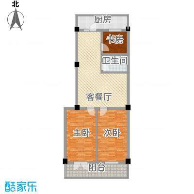 东港嘉园户型图3室3厅2卫