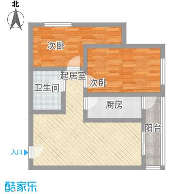 新星花园84.85㎡新星花园户型图D户型2室2厅1卫1厨户型2室2厅1卫1厨