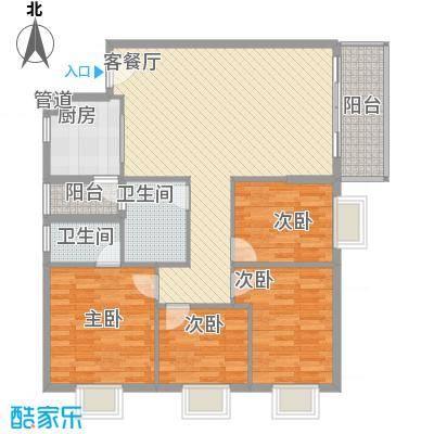 翠怡居住宅翠怡居住宅户型图翠怡居4房2厅4室2厅2卫1厨户型4室2厅2卫1厨