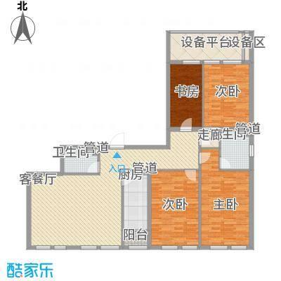 紫金广场177.00㎡紫金广场户型图J户型4室2厅2卫1厨户型4室2厅2卫1厨