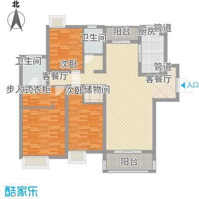 正龙豪园 3室 户型图