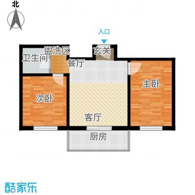 花间小镇75.15㎡花间小镇户型图75.152室1厅1卫户型2室1厅1卫