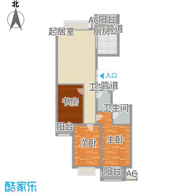 长岛国际145.53㎡长岛国际户型图2室1厅2卫1厨户型10室