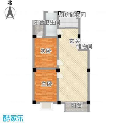 天和国际98.84㎡天和国际户型图B12室2厅1卫1厨户型2室2厅1卫1厨