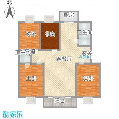 曲江新苑曲江新苑户型图D户型3室2厅2卫2厨户型3室2厅2卫2厨