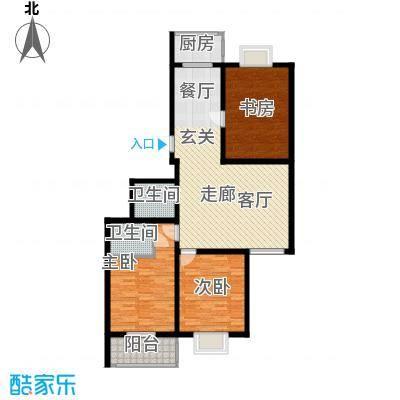 欧风丽景127.82㎡欧风丽景户型图户型A63室2厅2卫1厨户型3室2厅2卫1厨