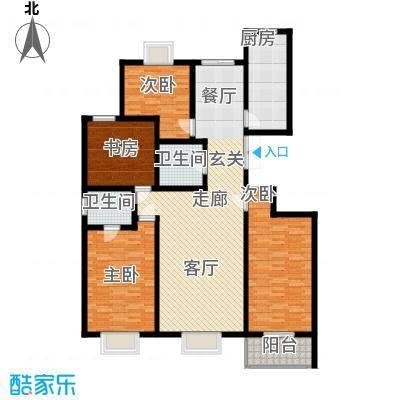 欧风丽景168.73㎡欧风丽景户型图户型A44室2厅2卫1厨户型4室2厅2卫1厨