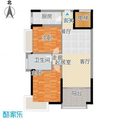 富康豪庭二期230.00㎡富康豪庭二期5室户型5室