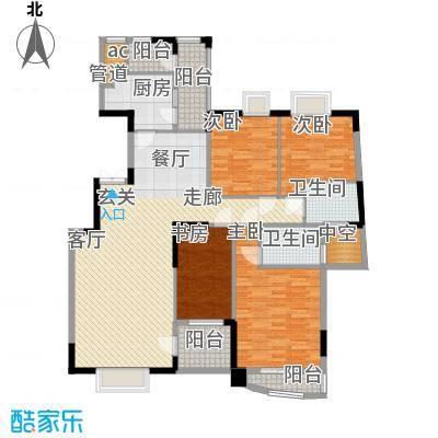 丽城花园别墅130.00㎡丽城花园别墅区3室户型3室