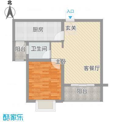 万马滨河城72.73㎡万马滨河城户型图户型图1室2厅1卫1厨户型1室2厅1卫1厨