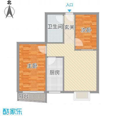 欣园小区81.62㎡欣园小区户型图户型C2室1厅1卫户型2室1厅1卫