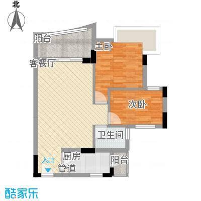 中南海晖园82.00㎡中南海晖园户型图13座05室3室2厅2卫户型3室2厅2卫