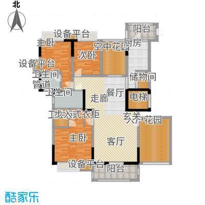新世纪领居二期193.00㎡新世纪领居二期4室户型4室