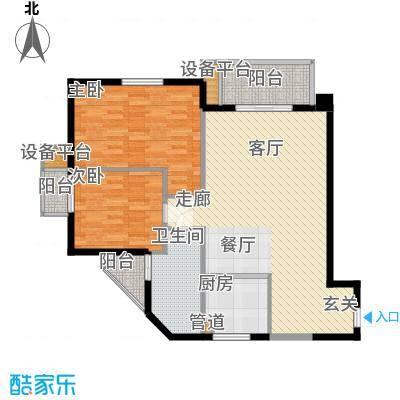 联合广场98.00㎡联合广场3室户型3室