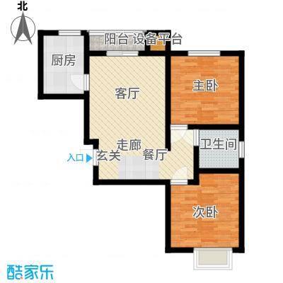 联合广场125.00㎡联合广场3室户型3室