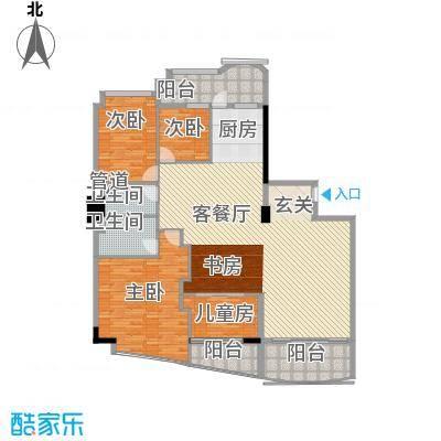世纪嘉园207.00㎡世纪嘉园户型图汇豪轩02\035室2厅2卫户型5室2厅2卫