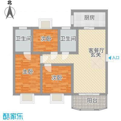 奥运花园103.90㎡奥运花园户型图3室2厅2卫1厨户型10室