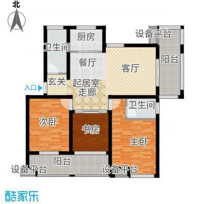 骏和・玲珑湾115.00㎡骏和・玲珑湾户型图c6户型3室2厅2卫1厨户型3室2厅2卫1厨