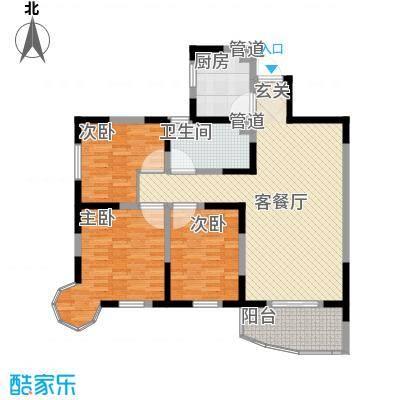 华安小区80.00㎡华安小区2室户型2室