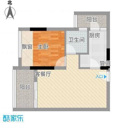 中惠阳光国际商城67.22㎡中惠阳光国际商城户型图2室2厅1卫1厨户型10室