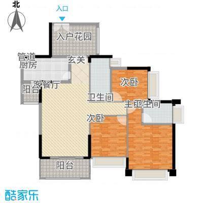 聚豪华庭192.00㎡聚豪华庭4室户型4室