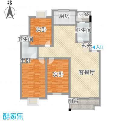 联谊花园联谊花园户型图[5)KB_6B6DOHHPY5]WRF2073室户型3室