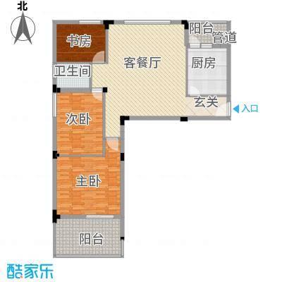 阳光海岸145.61㎡阳光海岸3室户型3室