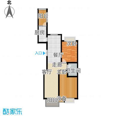 都市广场121.57㎡都市广场户型图2#02户型2室2厅1卫1厨户型2室2厅1卫1厨