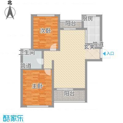 金海广场117.00㎡金海广场3室户型3室