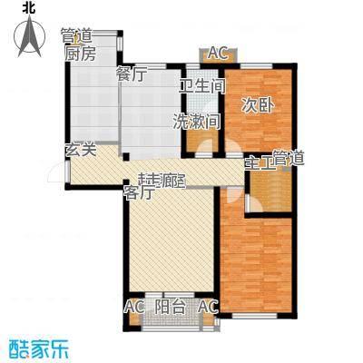东方圣荷西132.81㎡东方圣荷西户型图户型图2室2厅2卫1厨户型2室2厅2卫1厨