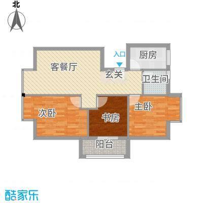 罗马花园92.79㎡罗马花园户型图三室两厅一卫92.793室2厅1卫1厨户型3室2厅1卫1厨