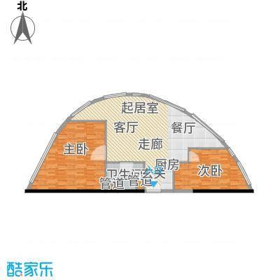 华林星座113.18㎡华林星座户型图2室2厅1卫1厨户型10室