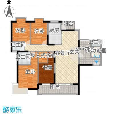 海岸国际海岸国际4室户型4室