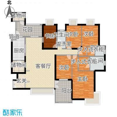 海岸国际海岸国际5室户型5室