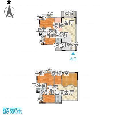 文化新村110.00㎡文化新村3室户型3室