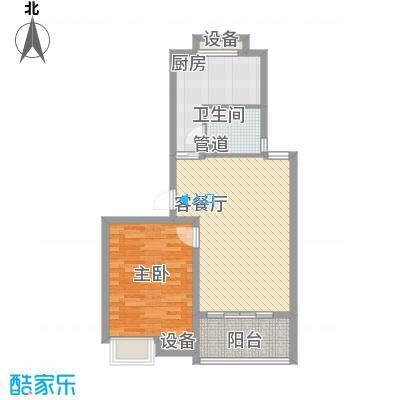海德公园66.00㎡海德公园户型图J21室2厅1卫户型1室2厅1卫