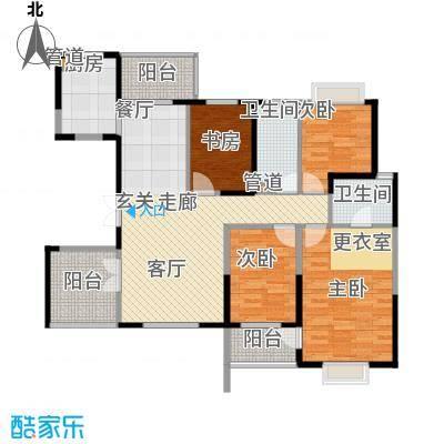 石竹新花园199.00㎡石竹新花园5室户型5室