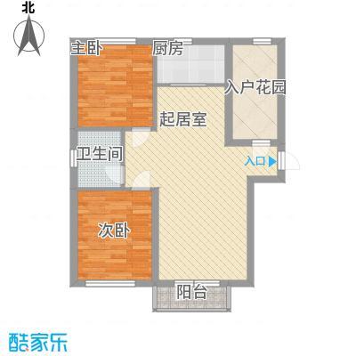 澳东世纪89.42㎡澳东世纪户型图2号、3号楼3-1户型2室2厅1卫1厨户型2室2厅1卫1厨
