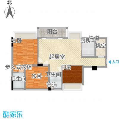 黄旗印象98.00㎡黄旗印象3室户型3室