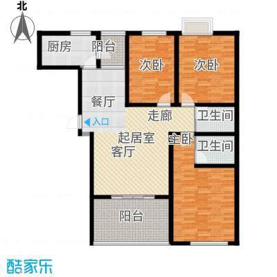 莱福花园132.00㎡莱福花园3室户型3室