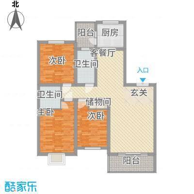 龙华・绿视界项目122.07㎡龙华・绿视界项目户型图A户型3室2厅2卫1厨户型3室2厅2卫1厨