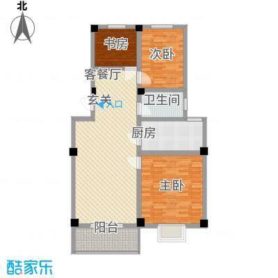 天和国际109.01㎡天和国际户型图B23室2厅1卫1厨户型3室2厅1卫1厨