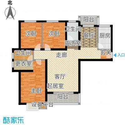 紫云轩151.08㎡紫云轩户型图C3户型3室2厅2卫1厨户型3室2厅2卫1厨