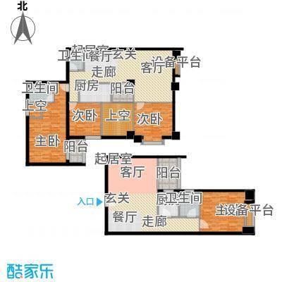 假日豪庭144.96㎡假日豪庭3室户型3室