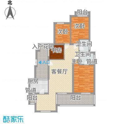 翠岗新村140.00㎡翠岗新村4室户型4室