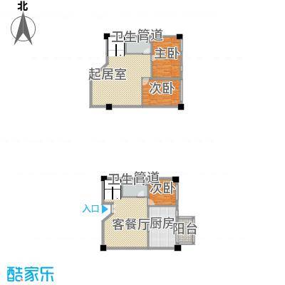 凯旋大地户型图4室