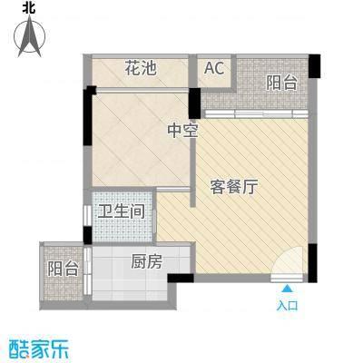 鼎峰品筑鼎峰品筑户型图1-3标准层A户型1室1厅1卫户型1室1厅1卫