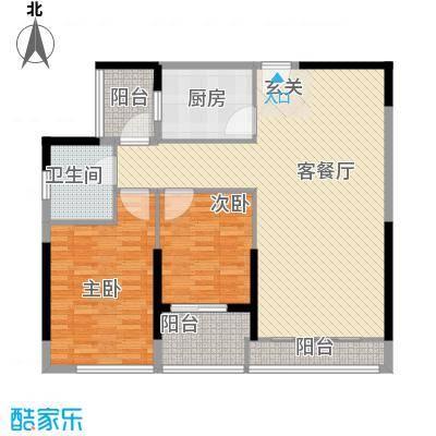 莲花住宅区 4室 户型图